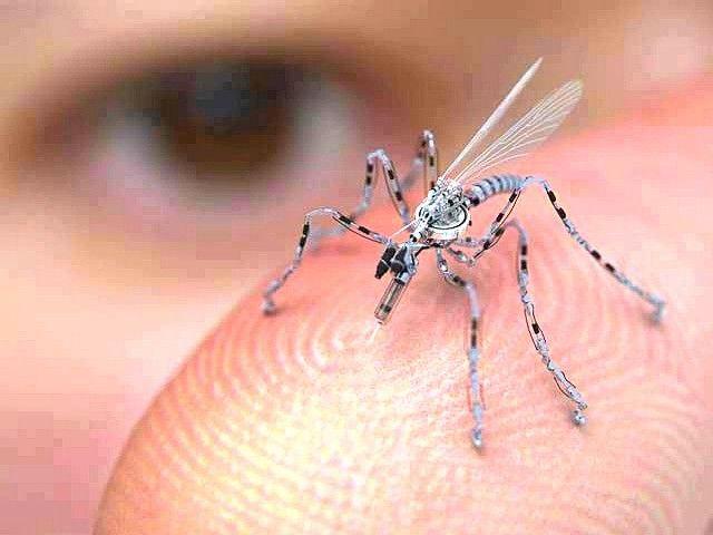 A fost odată SF în America ____ Este aceasta un ţînţar?     NU! Aceasta este o microdronă sub formă de insectă-spion folosită în zonele urbane, dronă care se află deja în producţie şi-al cărei proiect e finanţat de Guvernul SUA. (citeşte întregul articol pe blog) http://geea2012.blogspot.com/2014/03/a-fost-odata-sf-in-america.html