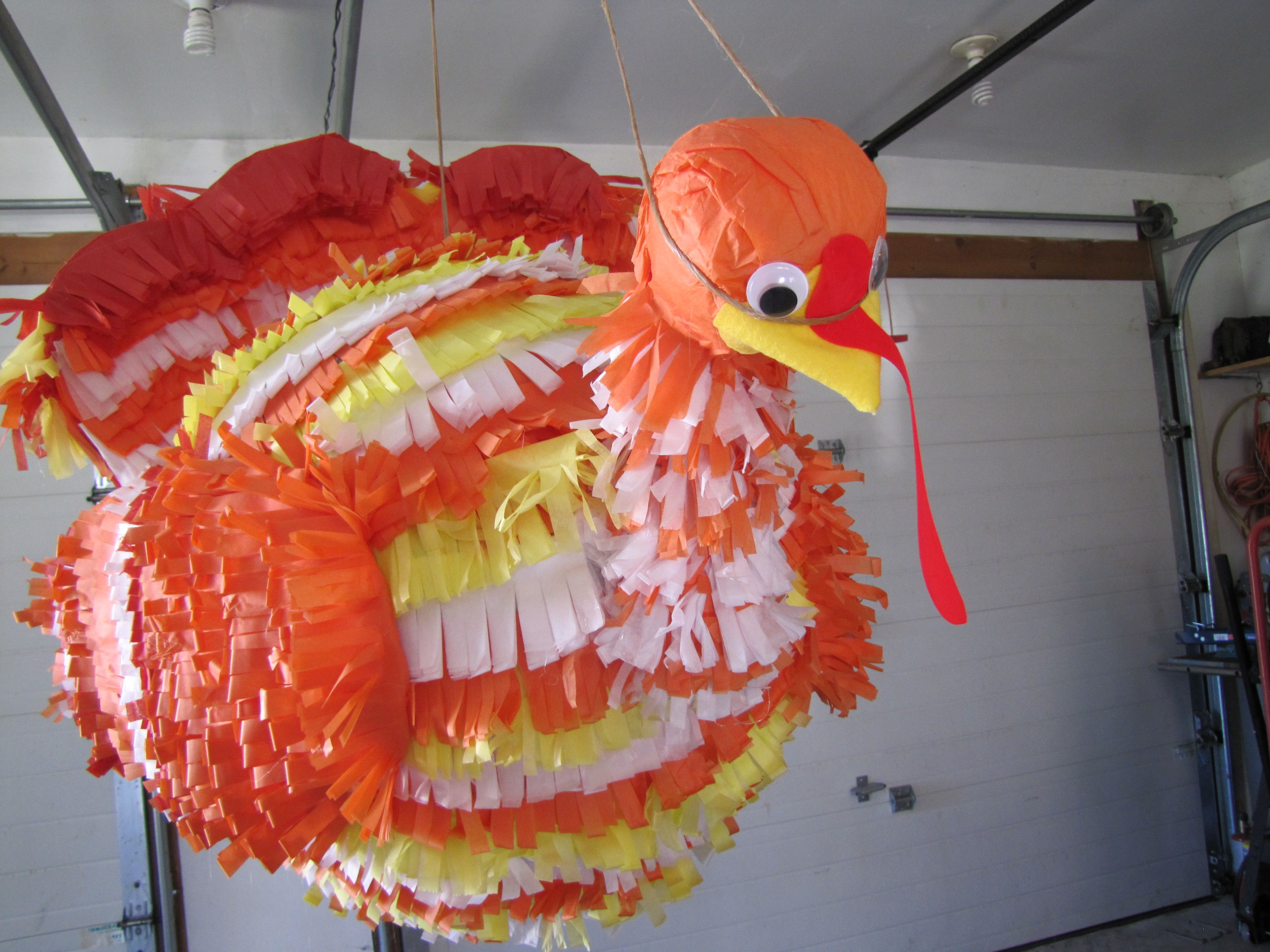 Turkey Pinata For Thanksgiving