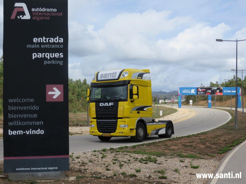 Santi Event & Racing transport - Algarve - circuit Portimao
