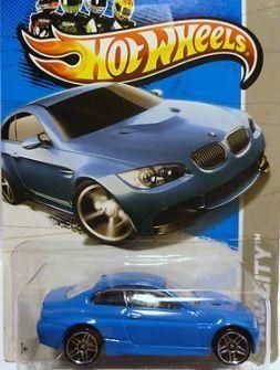 Hot Wheels 2013 Bmw M3 Blue Hw City 7 250 1 64 Scale By