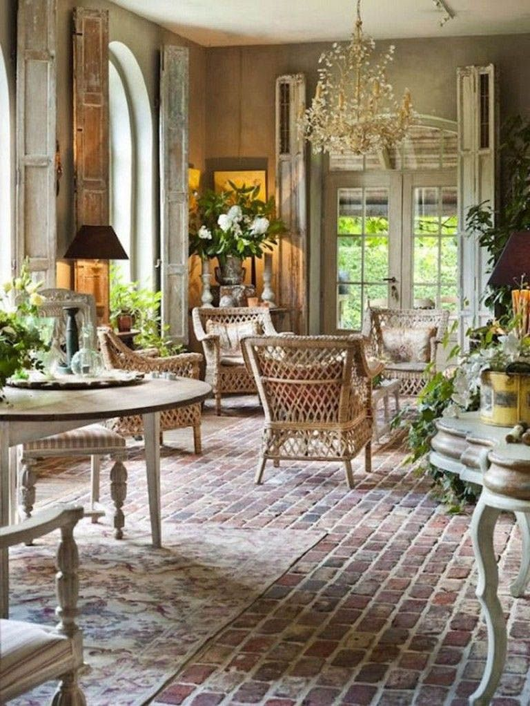 Basics Of French Country Decor House Living Room Decorating