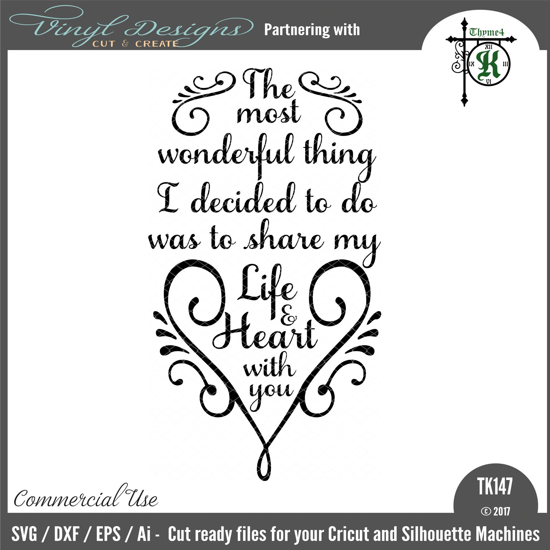 TK147 Most Wonderful Thing. Sold By Thyme4KSmall business ...