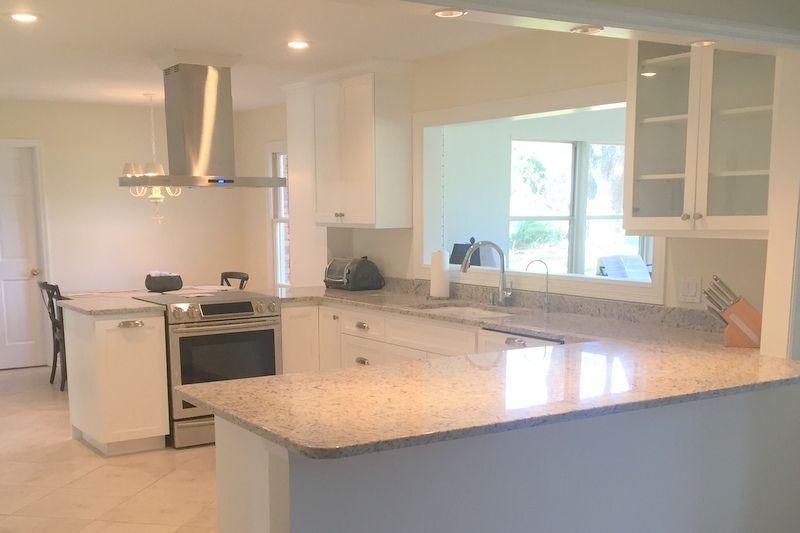 Custom Built Designer Kitchen On St. Simons Island By Cabinet Creations  (912) 275