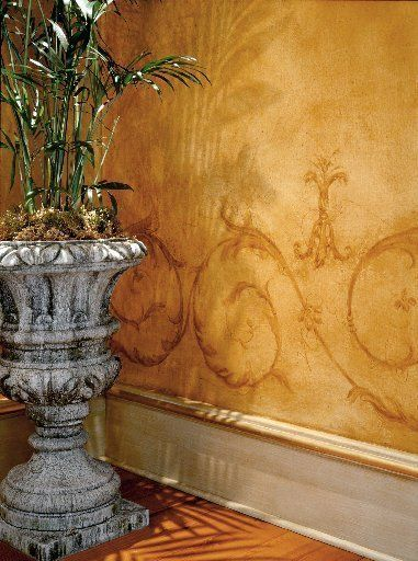 Decorating With Faux Finishes And Old World Textures