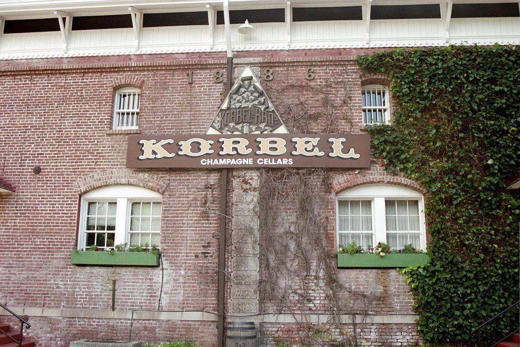 Korbel Winery, Guerneville, CA