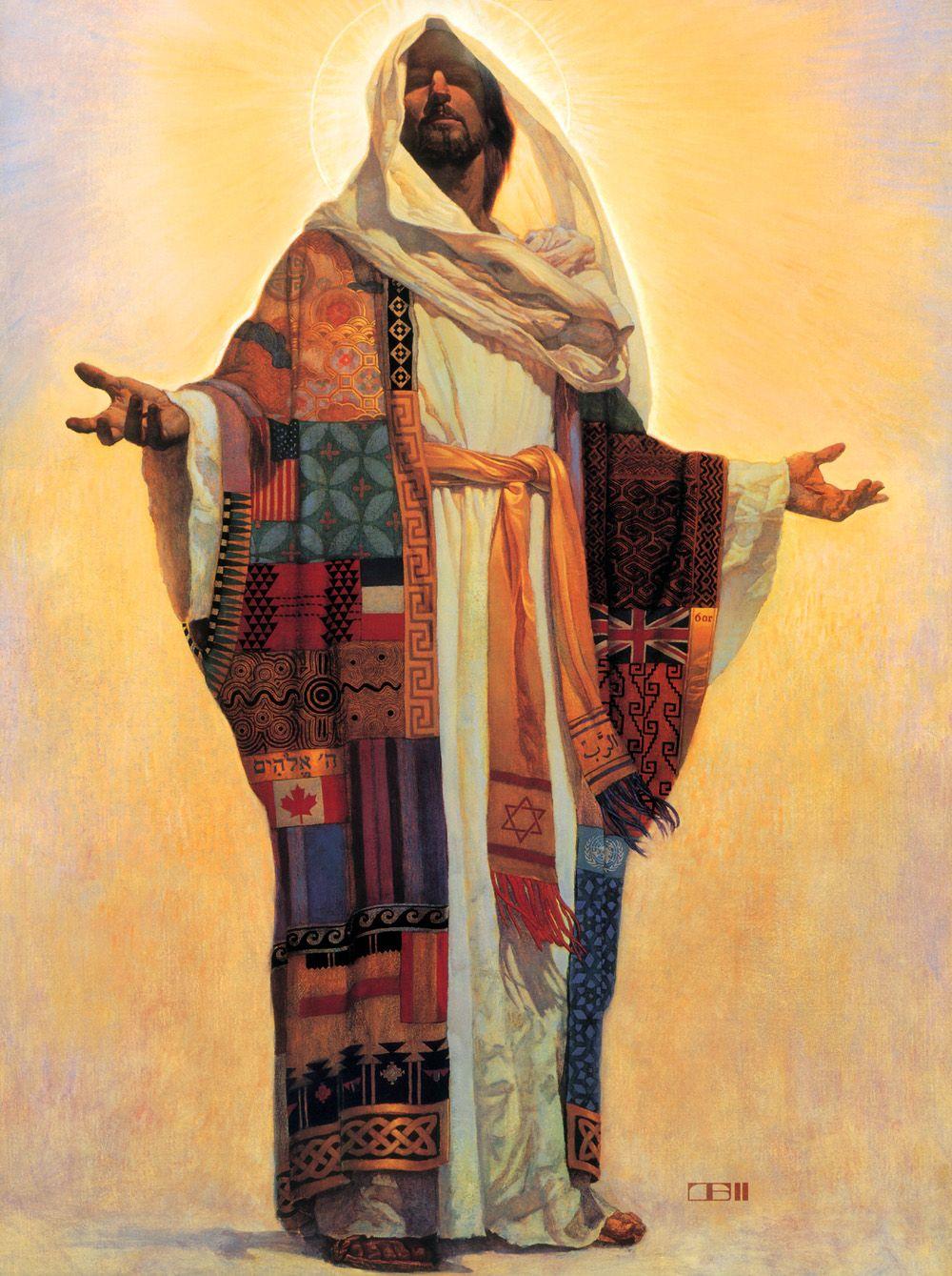 Jesus • Illustration art African african american paintings Thomas ...