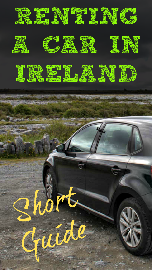 A Short Guide To Renting A Car In Ireland Ireland Travel