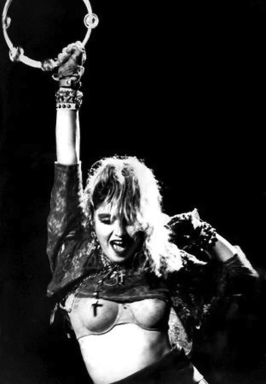 Madonna Performs The Virgin Tour At Radio City Music Hall In New York City June 6 1985 Madonna Concert Madonna Young Madonna Vogue