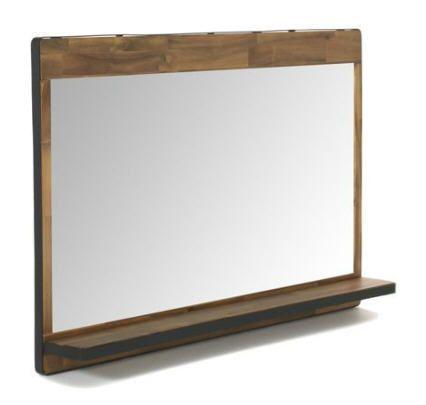 Miroir de salle de bain double Kota prix promo Alinea 149.00 € TTC.