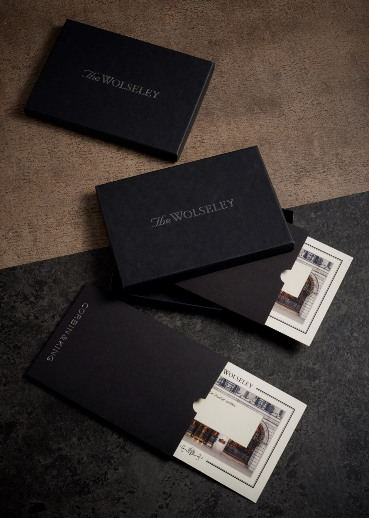 The box includes a thick card insert in the premium material ...