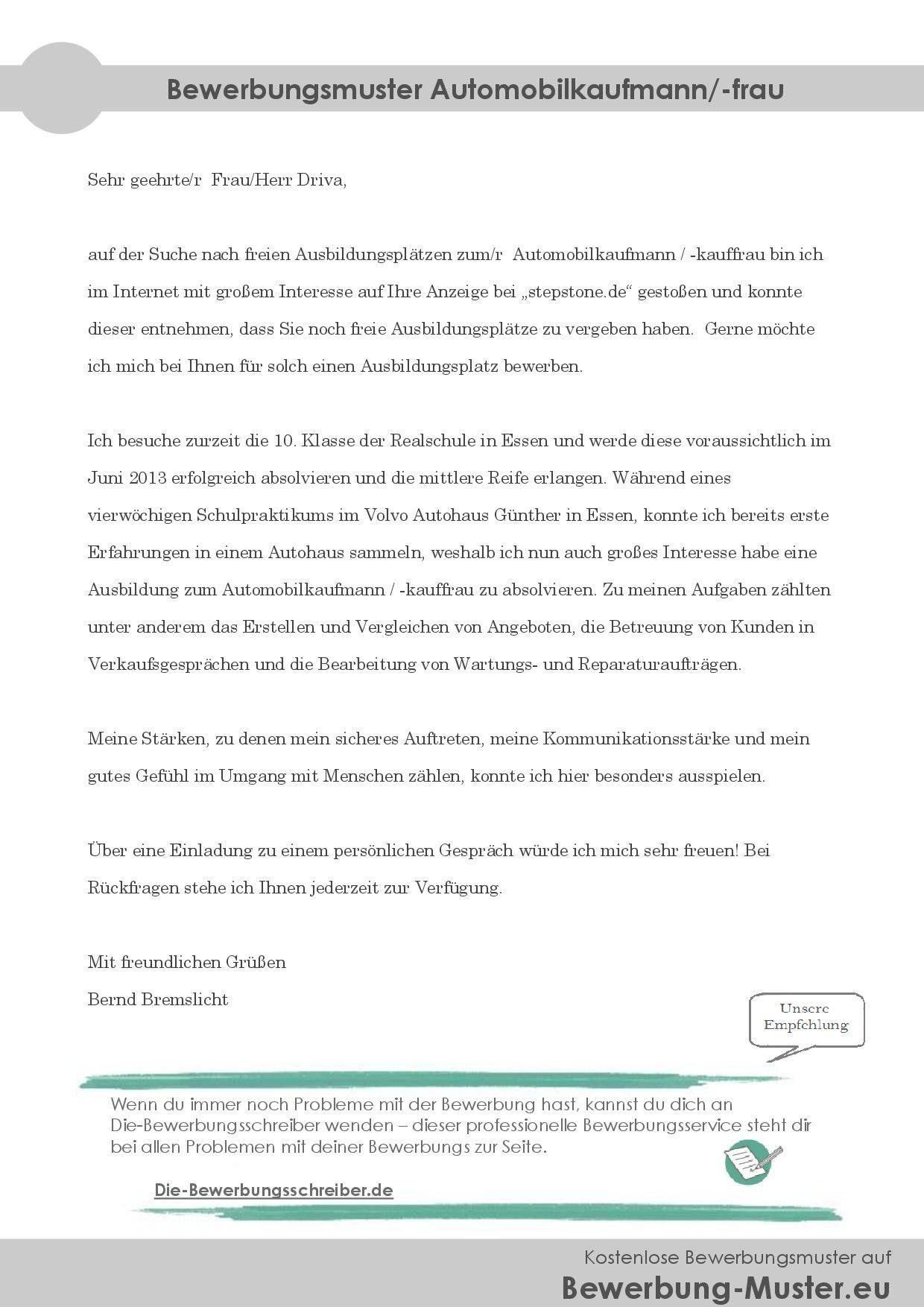 Neu Motivationsschreiben Verfassungsschutz Briefprobe Briefformat Briefvorlage Lebenslauf Lebenslauf Muster Gute Bewerbung