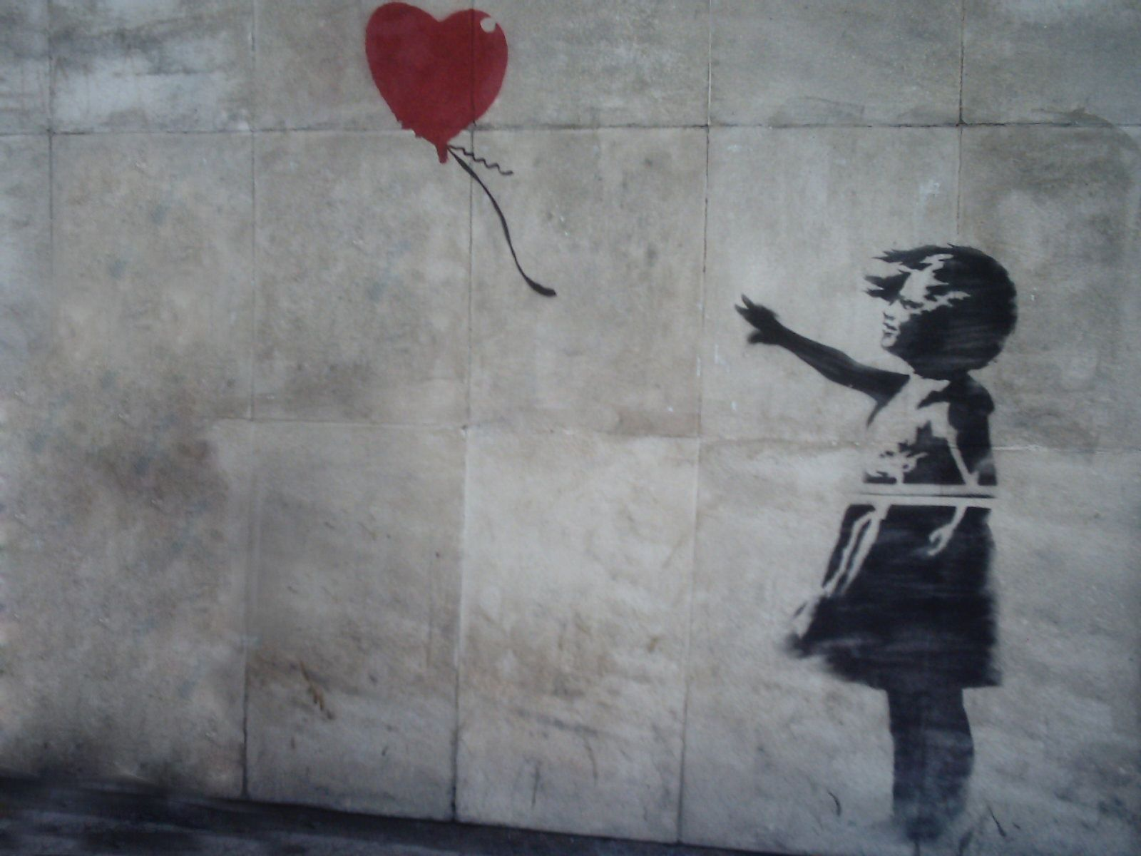 Favorite Artist Bansky Artwork's Name Balloon Girl