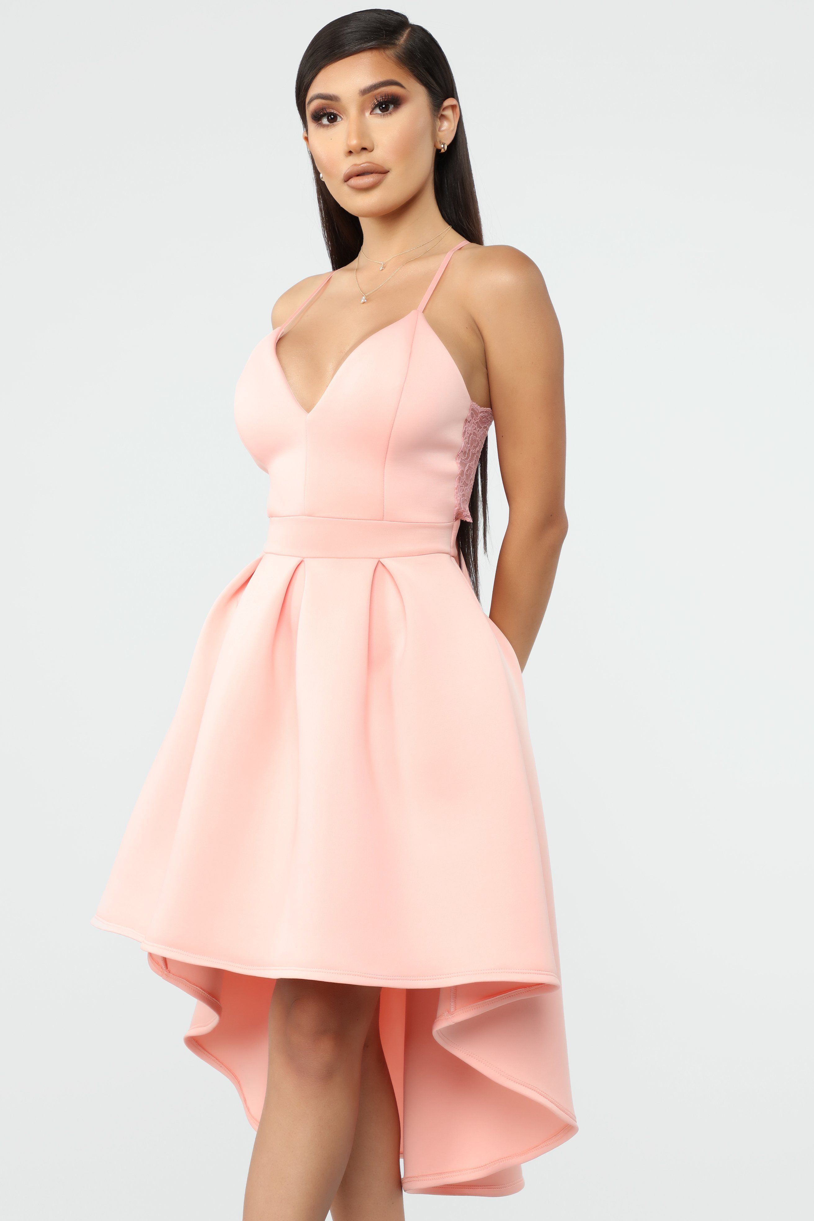 Just A Kiss High Low Dress Blush In 2019 Dresses