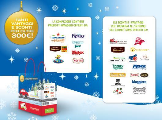 Christmas Box TotalErg Omaggio Ai Possessori Della Carta Fedeltà