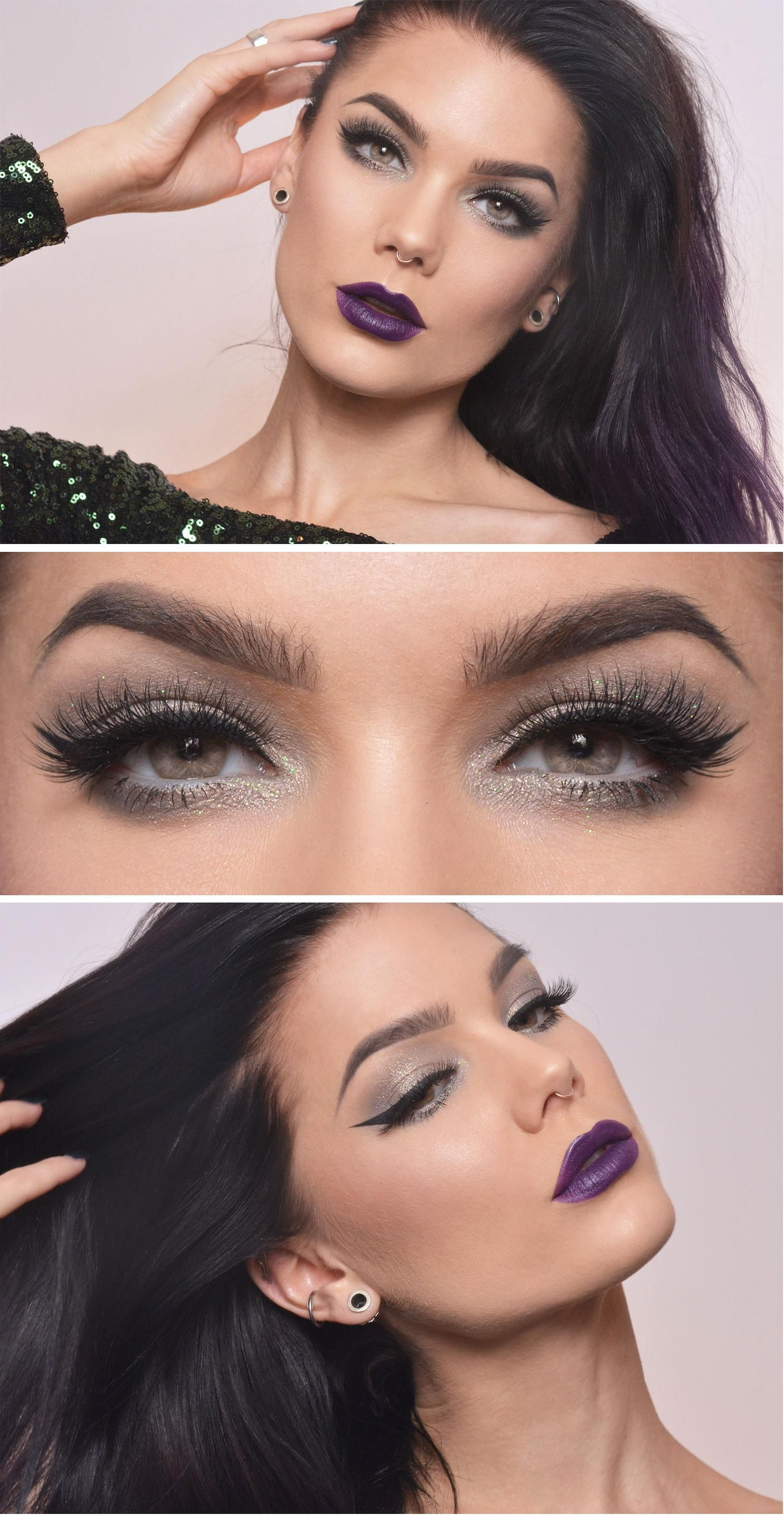 Eye look for when we get our statement lippies  Maquillaje