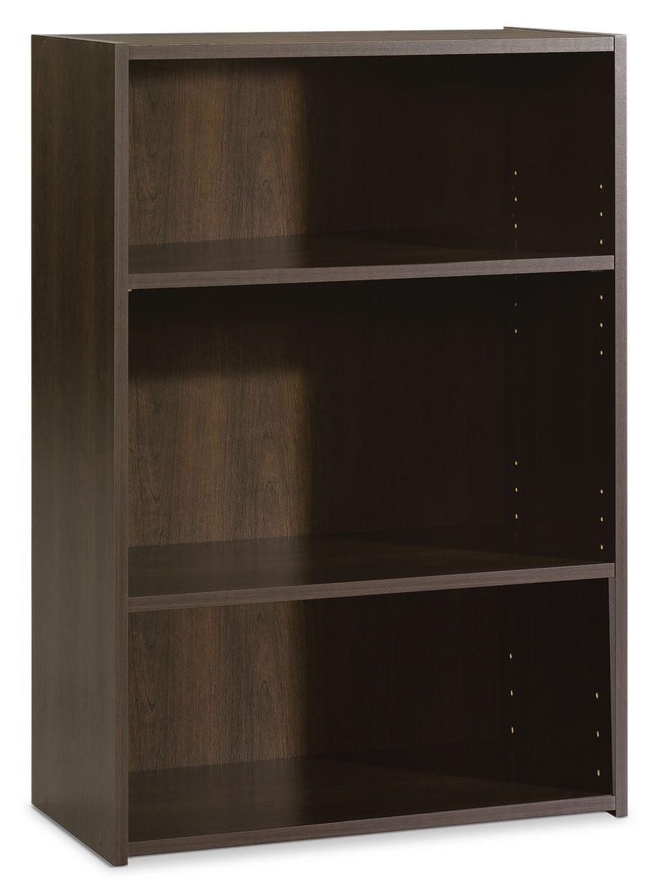 Home Office Furniture - Boston 3-Shelf Bookcase
