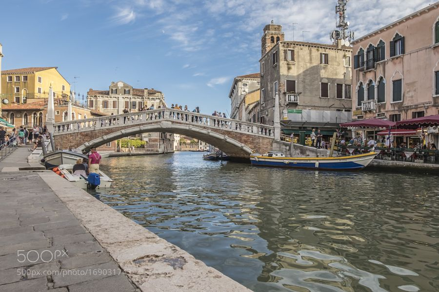 Ponte delle Guglie - Venice by uysalmehmet01 #travel #traveling #vacation #visiting #trip #holiday #tourism #tourist #photooftheday #amazing #picoftheday