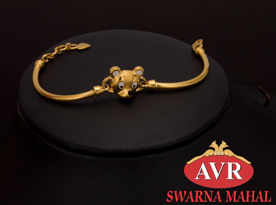 Cute Bracelet Collections from AVR Swarnamahal for your cute ones ...