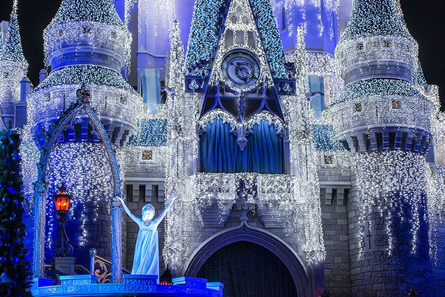 Disney World News   A Frozen Holiday Wish Now Appearing At Magic Kingdom