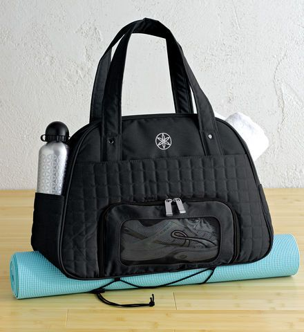 Everything Fits Gym Bag Black