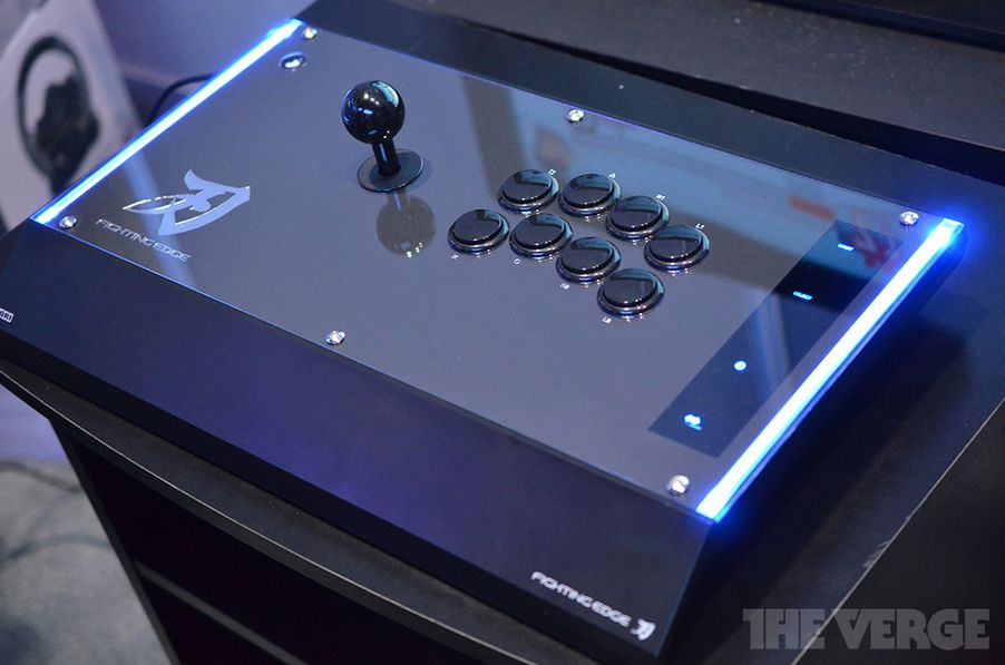 Hori Fighting Edge Arcade Stick Hands On Photos Toys And
