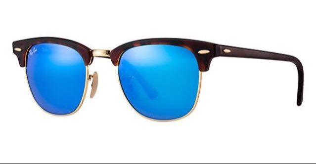 """1eaae7fa689 Few brands master timeless cool like Ray-Ban. Case in point  The """"Flash  Clubmaster."""" The unofficial  sunglasses of coasting in…"""
