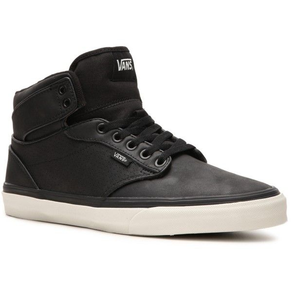 283c6e5dcc Vans Atwood High-Top Sneaker - Mens ( 50) ❤ liked on Polyvore featuring  shoes