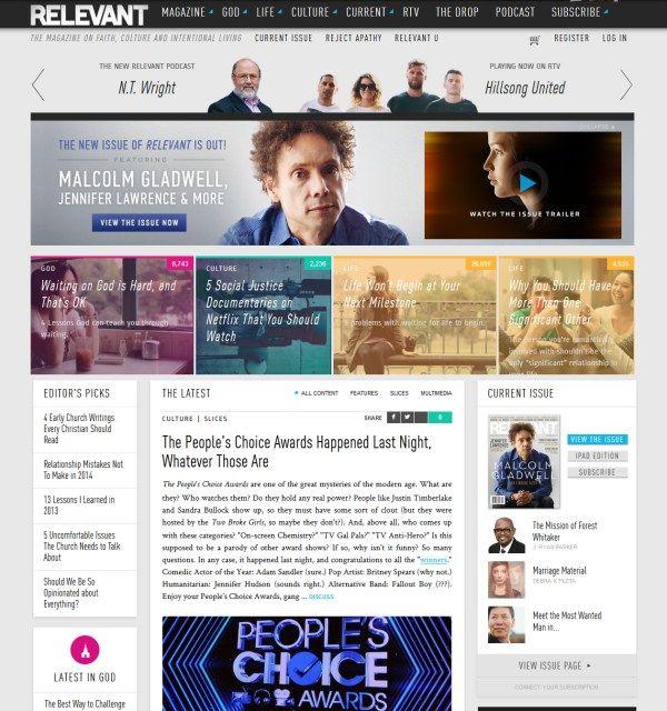 Relevant magazine - publication - #grid #megamenu #articles ...