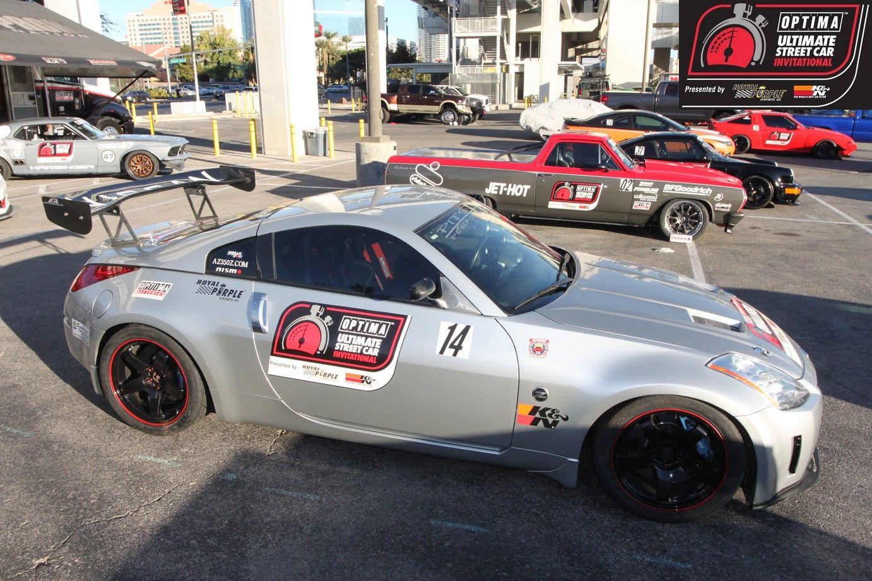 Steve Mott and his 600+ horsepower 2003 Nissan 350Z will