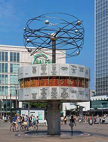 Urania Weltzeituhr Wikipedia Berlin Stadtereise Berlin Berlin Fotos