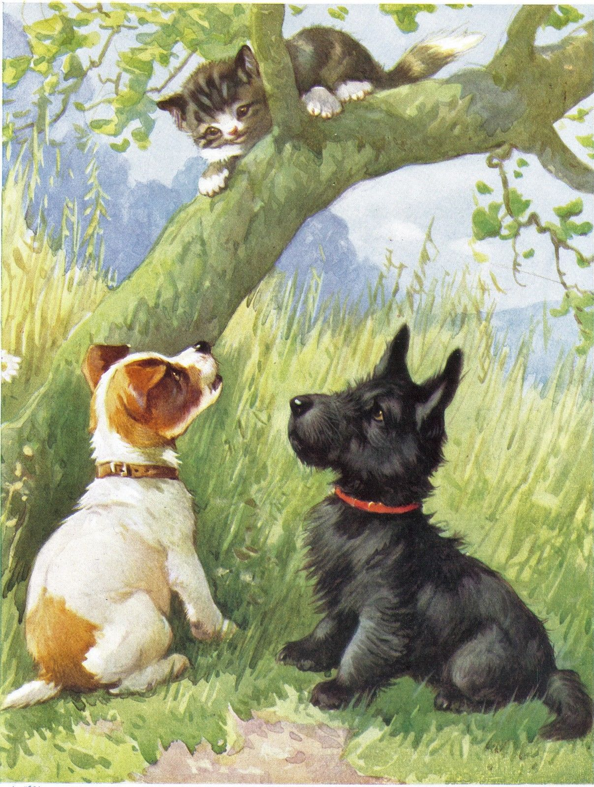 1950s A E Kennedy Illustration Ebay Art Dog