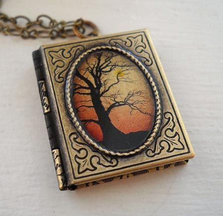 A book locket httprosettabooks gifts for book lovers a book locket httprosettabooks aloadofball Images