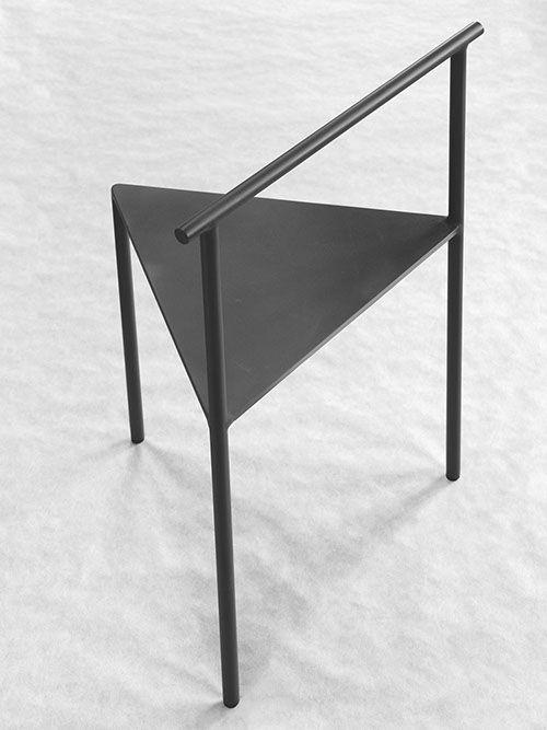 archetype furniture. ARCHETYPE CHAIR. Black Coated Iron 760 X 53 41 Cm \u2014 Soe Studio WORKS Archetype Furniture