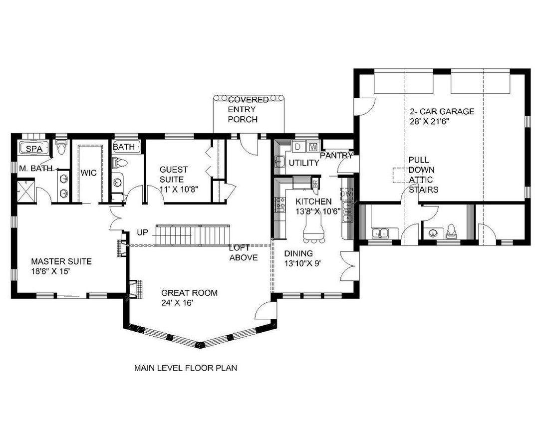 Home Plan 0012087 2177 heated square feet 2.5