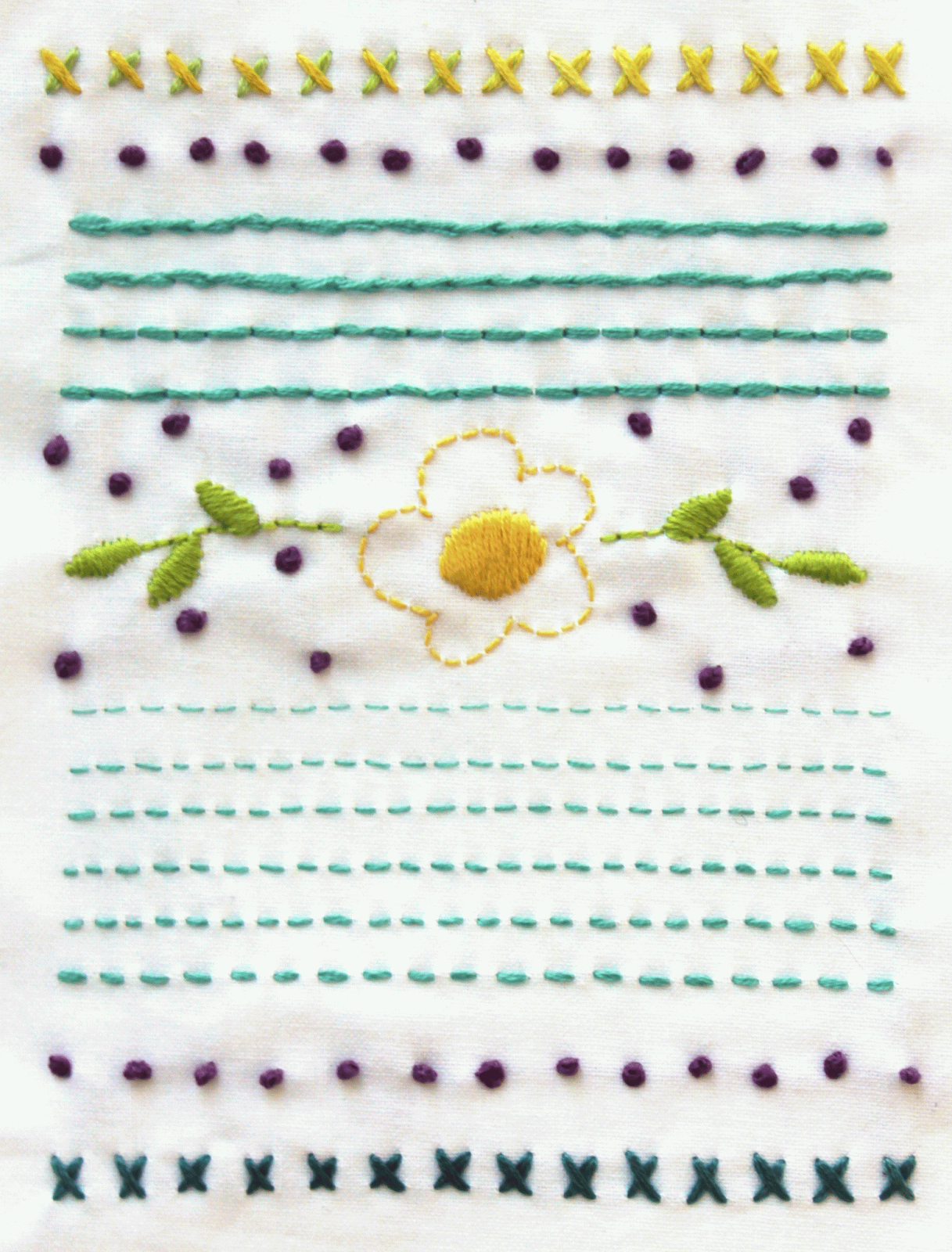 embroiderysampler.png (1217×1600) | ideas bordado | Pinterest ...