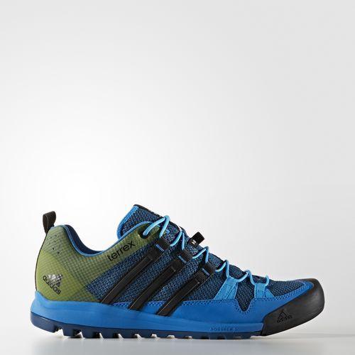 Terrex Solo Schuh Blau Dress Shoes Men Hiking Shoes Mens Boots Men