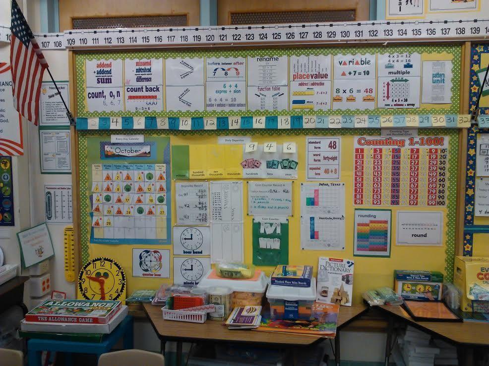 Math Board Every Day Counts Calendar Activities 3rd Grade