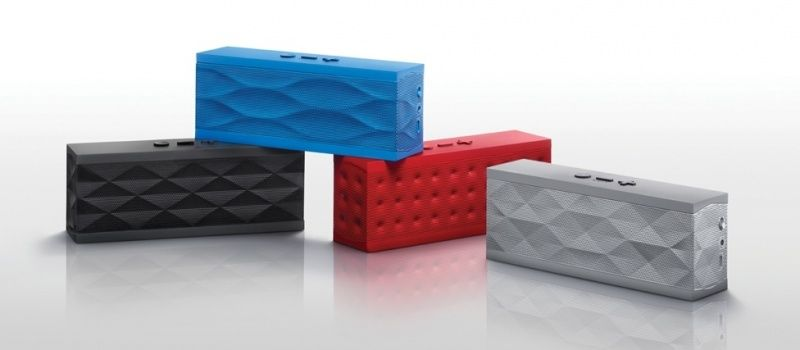 Jambox Red Dot Bluetooth Speaker with Built-in Microphone