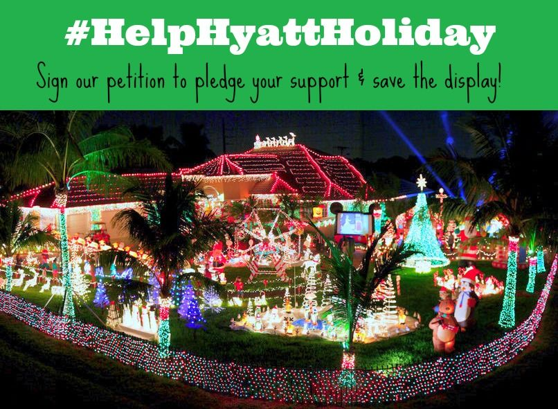 Hyatt Extreme Christmas, Fort Lauderdale FL, Kathy and
