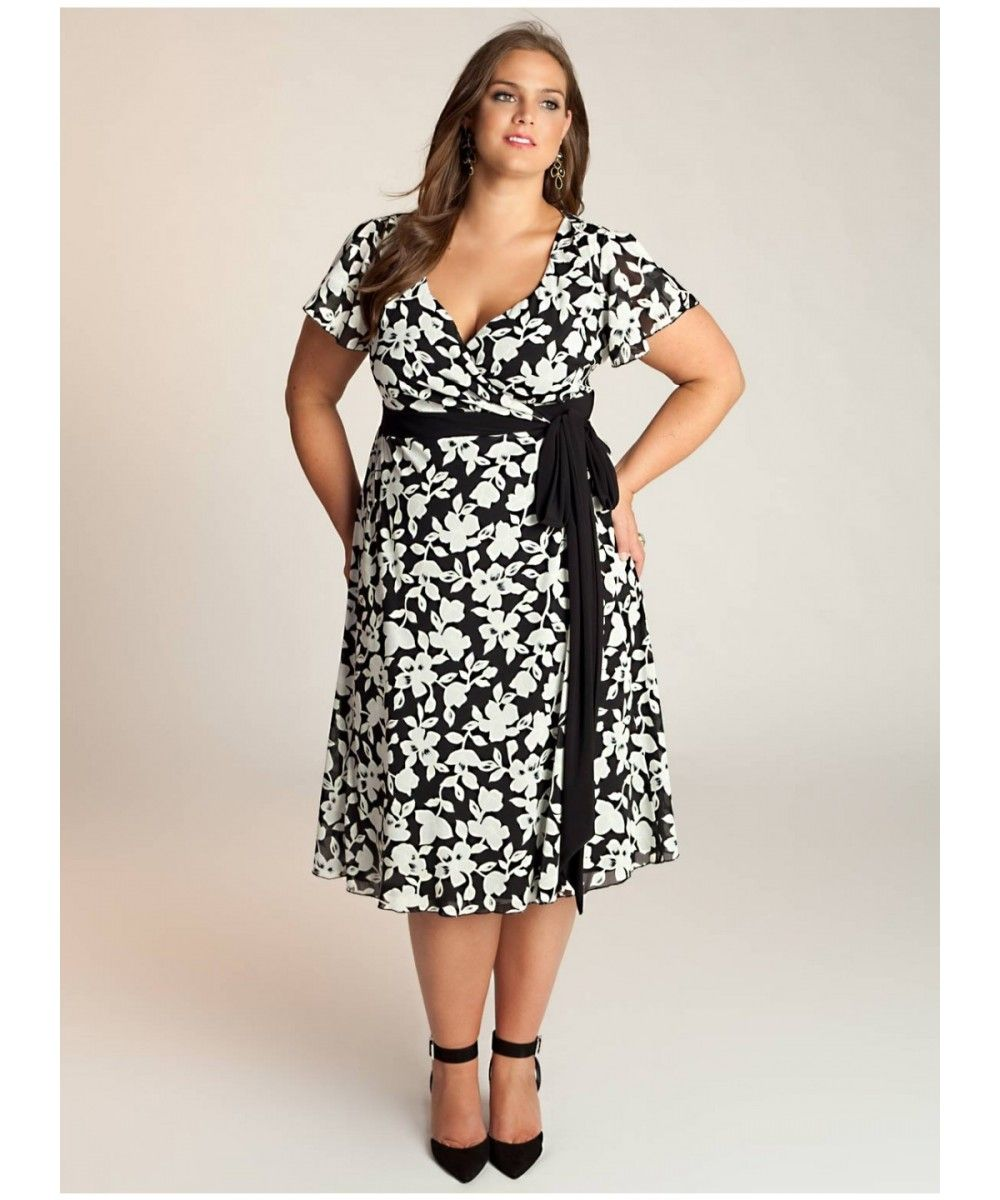 Plump Fashion Ropa Para Gorditos Vestidos Estampados Para Gorditas Vestido Para Gorditas