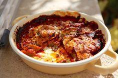Gratin D Aubergines Facile Cuccina Gratin Recipes Cooking