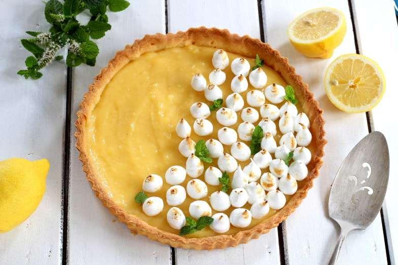 Tarte au citron meringuée - 750 grammes