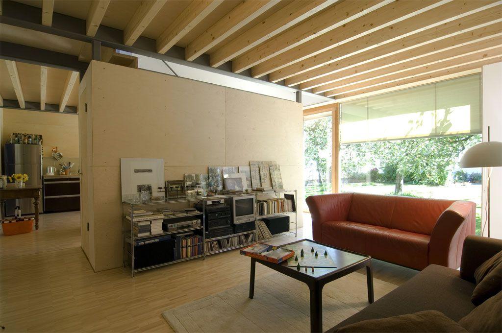 ÖKO-Haus - Architekt Gumpp - Heigl - Schmitt München Moderne - architekt wohnzimmer