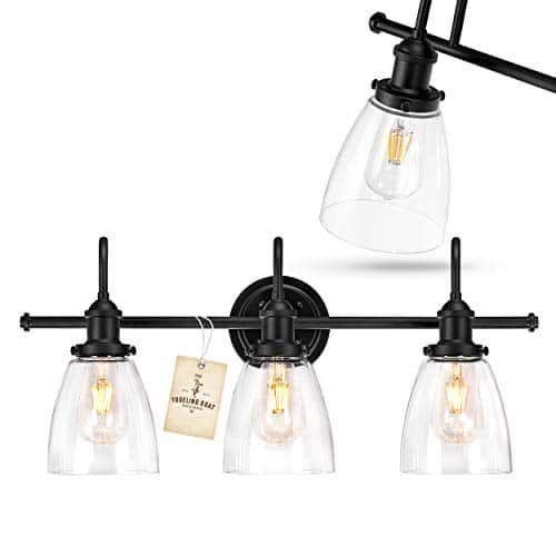 Photo of Black Vanity Light – Black Bathroom Light Fixtures, Farmhouse Bathroom Lightin…