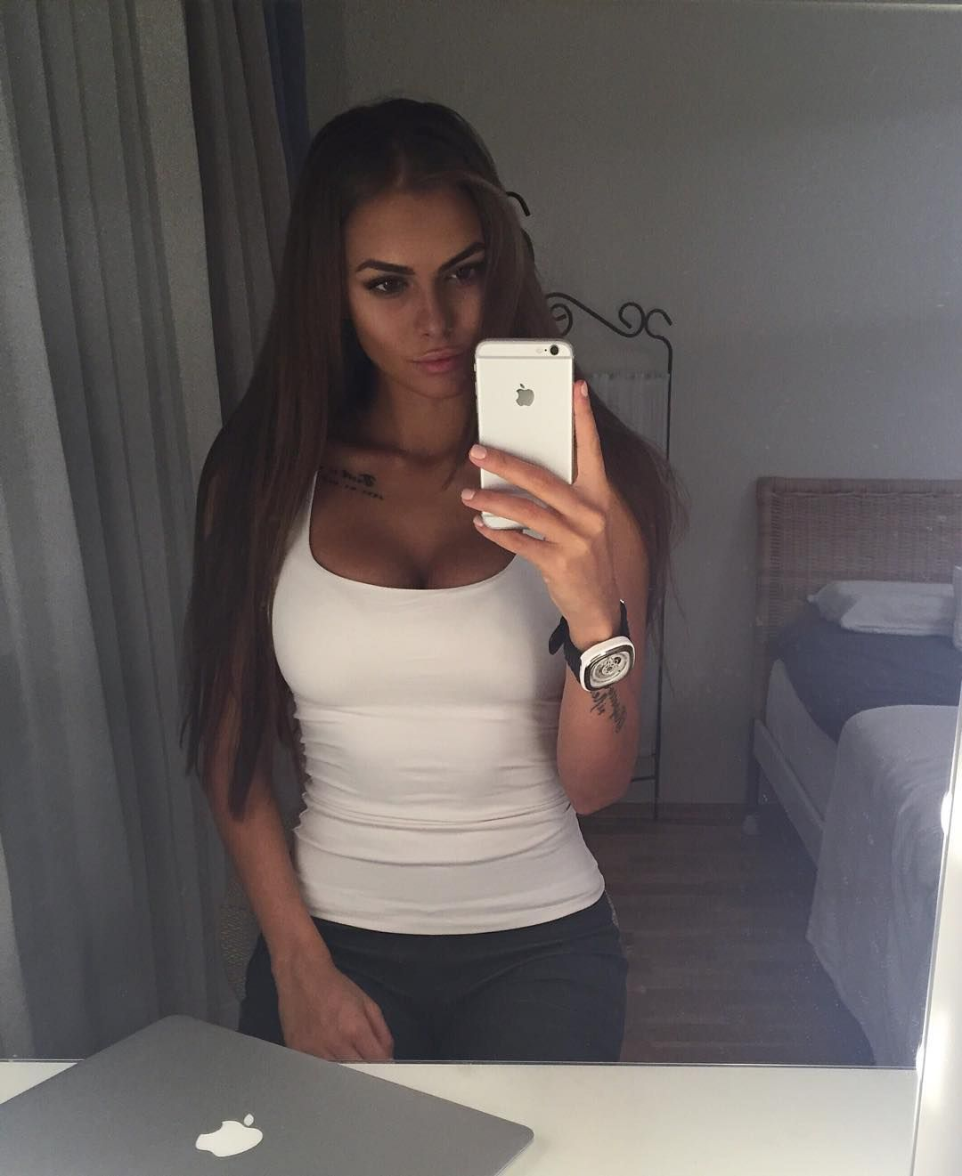 Sideboobs Selfie Viki Odintcova naked photo 2017