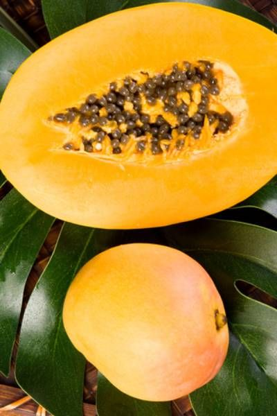 #mexicanrecipes #mexicanfood #salsa Papaya and mango salsa is an exotic name, and it perfectly suits this exotic dish. Contrasting with the fruit you have onion, cilantro and j...