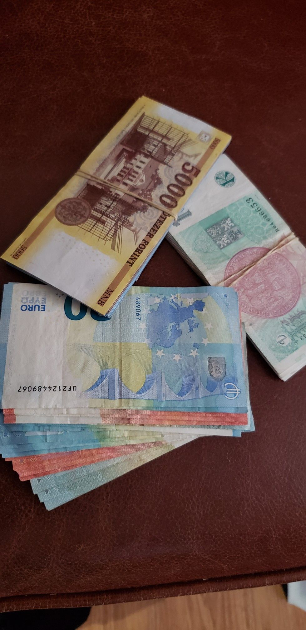 b9044b3ad Three Central Europe currencies