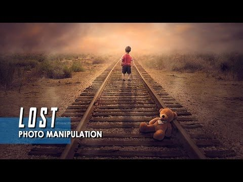 LOST - Photoshop Manipulation Tutorial - YouTube