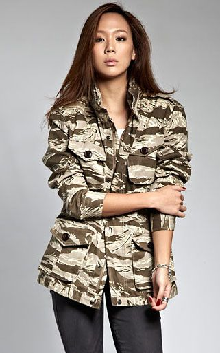 NUDE BONES M-65 jacket (Washed) Desert tiger camo M-65 필드 자켓. 데저트 타이거 카모플라주