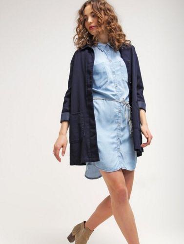 bb551c41 ONLY ONLHENNA Sukienka jeansowa light blue denim | Jeans, Denim ...